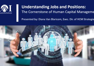 Webinar: Understanding Jobs & Positions (Oct. 11, 2018)