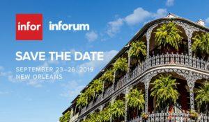Inforum 2019 Save the Date