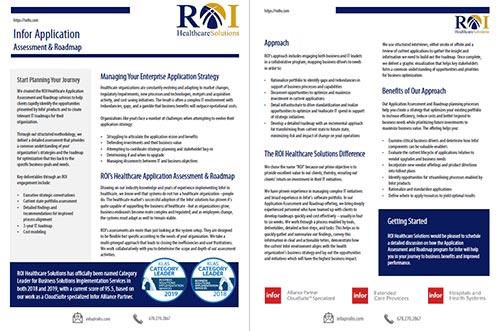 Infor Assessment Brochure