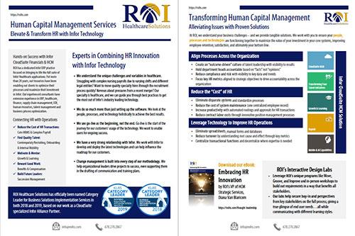 HCM Services Brochure