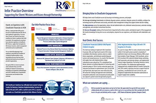 Infor Practice Brochure