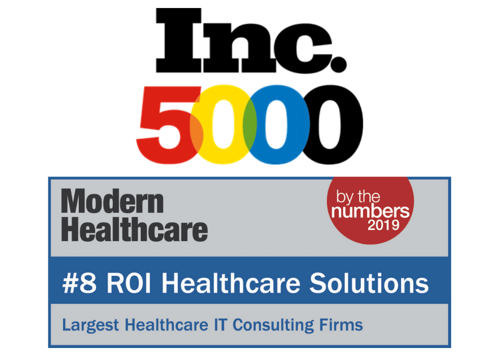 Inc 5000 and Modern Healthcare Largest Healthcare IT Consulting Firms Awards