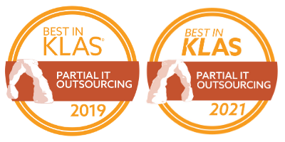 Best in KLAS Partial IT Outsourcing 2019 and 2021