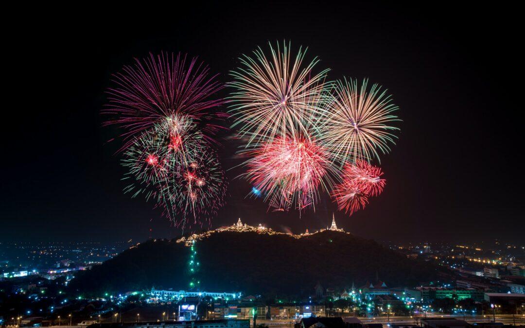 Beautiful Fireworks display.