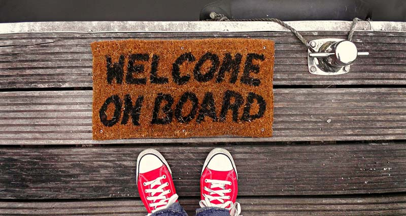 Welcome Onboard!